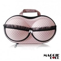 Lingerie Case Travel Bra Organizer BRA - Light Pink